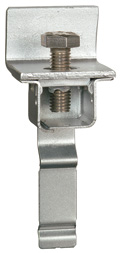 Frame connector with threading