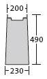 BIRCOsir – kleine Nennweiten Nominal width 100 Outfall units In-line outfall unit