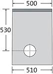 BIRCOsir – kleine Nennweiten Nominal width 150 Outfall units In-line outfall unit