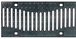 BIRCOsir – kleine Nennweiten Nominal width 150 Gratings/covers Design ductile iron grating 'Wave'