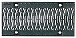 BIRCOsir – kleine Nennweiten Nominal width 150 Gratings/covers Design ductile iron grating 'Ellipse'