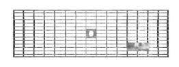 BIRCOlight Nominal width 100 AS Gratings/covers Gitterroste mit Flachrandeinfassung Rutschhemmklasse R11/V10