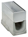 BIRCOtop Serie S Nominal width 150 AS Slotted steel covers Access covers I 2-piece I material thickness 1.5 mm