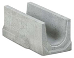 BIRCOtop Serie S Nominal width 150 AS Base channels channel elements NW 150 AS for slotted steel covers/access covers I without angle